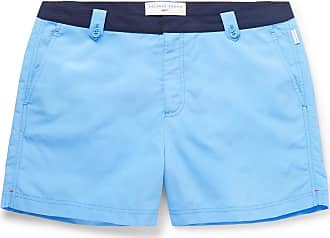 Orlebar Brown + 007 Thunderball Setter Mid-length Swim Shorts - Blue