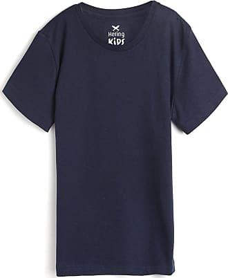 Hering Kids Camiseta Hering Kids Menino Lisa Azul-Marinho