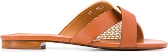 Robert Clergerie woven strap sandals - NEUTRALS