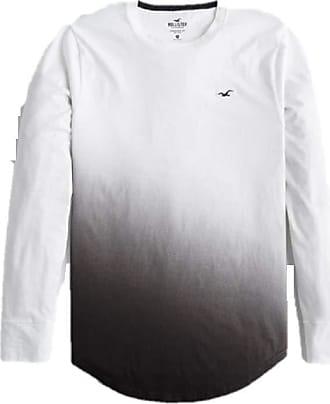 Hollister New Ombre Crew Neck Logo Graphic T-Shirt TEE top Men SZ: X-Small XS
