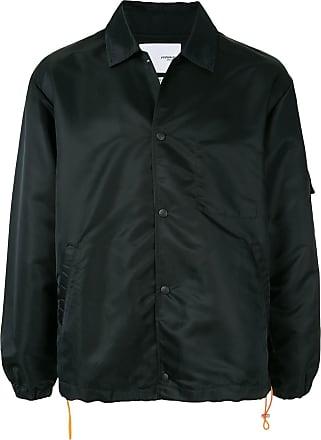 Yoshiokubo jacquard coach jacket - Black