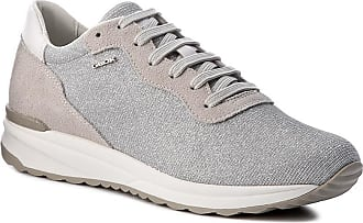 Geox Sneakers GEOX - D Airell B D642SB 0EW22 C0742 Lt Grey Off White 84eb8e25d1dd