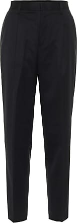 Comme Des Garçons Wool high-rise straight pants