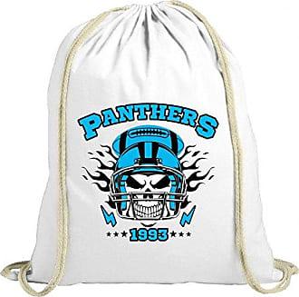 dddefffbcaf7a Shirt Happenz Panthers Skull Premium Turnbeutel