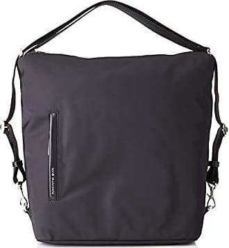 7bb484b77e Mandarina Duck Hunter, Borsa a Tracolla Donna, Nero/Black, 10x21x28.5