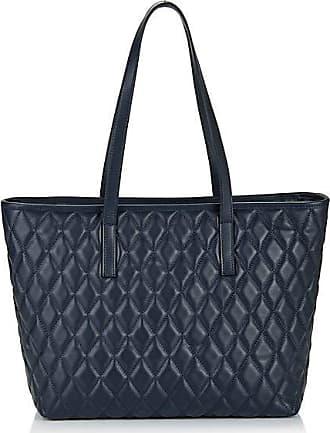 Madeleine Shopper-Tasche aus edlem Leder Damen marine / blau