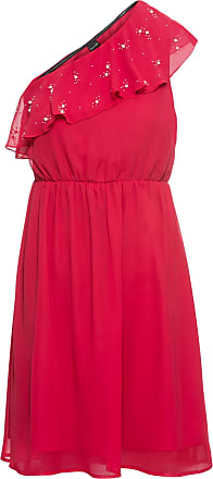 Bodyflirt Dam Enaxlad klänning i röd utan ärm - BODYFLIRT b4a6e8587aee9