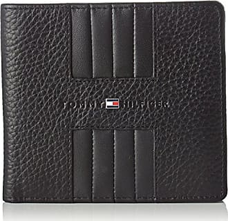 321ffe595 Tommy Hilfiger Heritage Cc Back Coin Zip, Carteras Hombre, Negro (Black),