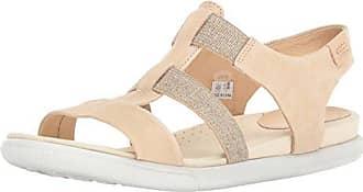 cb46a4425952 Ecco Womens Damara Elastic Gladiator Sandal
