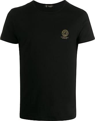 Versace Camiseta Medusa com logo no busto - Preto