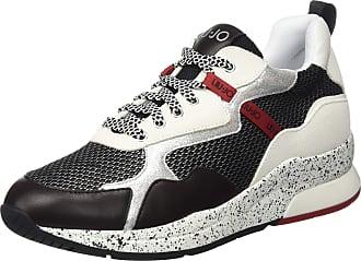 Liu Jo Womens Karlie 35-Sneaker Low-Top, Black (Black 22222), 8 UK