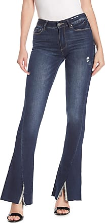Paige Womens High Rise Bell Canyon High Rise Flare Jeans Clark Blue 23 x 33