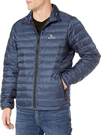 Rip Curl Mens FALLONG Sleeve Anti Series Jacket Sweatshirt, Navy, XL