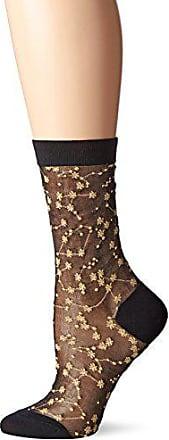 Ozone Womens Sheer Zodiac Sock Gold, 9-11