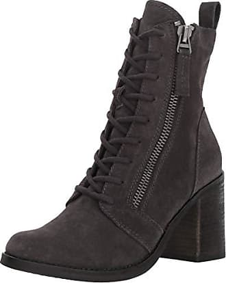 Dolce Vita Womens LELA Ankle Boot, Anthracite Suede, 6.5 M US