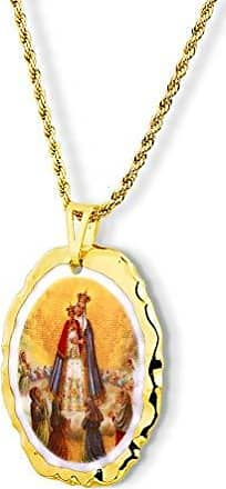 Design Medalhas Pingente Medalha Nossa Senhora Bom Parto Ouro