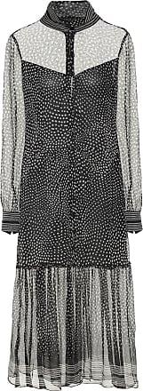 Rag & Bone Libby dotted silk-chiffon midi dress