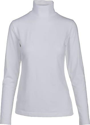 Woolrich Womens Laureldale Mock Turtleneck, White, XL