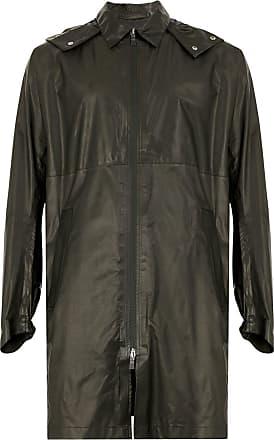 Herno midi zip raincoat - Brown