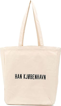 Han Kjobenhavn Bolsa tote URL com estampa - Neutro