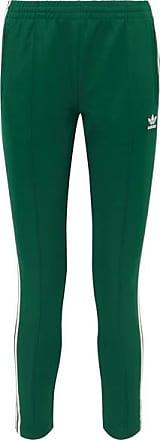 a79507030c adidas Originals Pantalon De Survêtement En Jersey De Satin À Rayures  Superstar - Vert