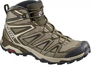 Salomon Mens X Ultra 3 Mid Aero Hiking Boots