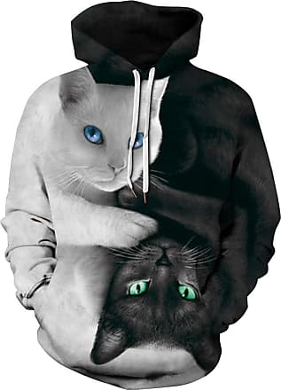 EUDOLAH 3D Prints Pullover Jumpers Breathable Hoodies Patterned Sweatshirts for Mens Size S M L XL 2XL 3XL (Tag 2XL/3XL, 425cat)