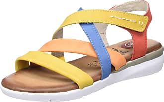 Jana Womens 8-8-28205-24 Ankle Strap Sandals, Multicoloured 990, 5 UK