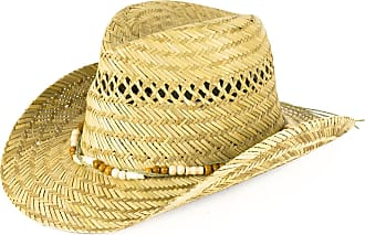 Hat To Socks Unisex Straw Cowboy Hat with Bead Band