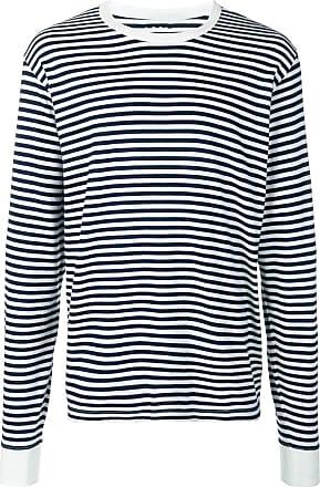 Visvim striped longsleeved T-shirt - Azul