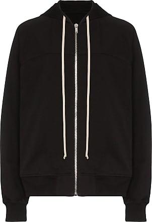 Rick Owens zip-up hoodie - Preto