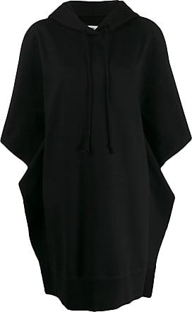 Maison Margiela oversized hoodie dress - Black