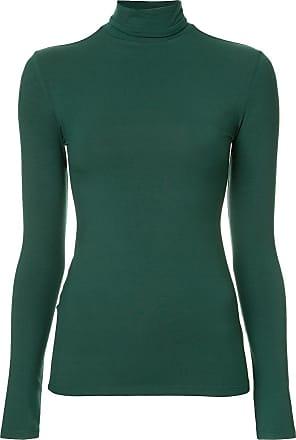 Layeur Blusa de moletom Marina gola alta - Verde