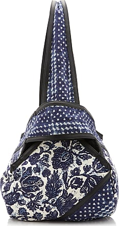 Ulla Johnson Rosario Abaca-Paneled Patchwork Cotton Bag