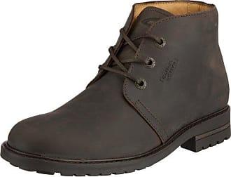 Camel active Bormio GTX Schuhe Stiefel Herren Leder braun Winterschuhe Größe 42