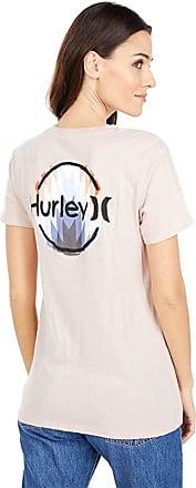 Hurley Womens Paia Circle Raglan 3//4 Sleeve Tshirt