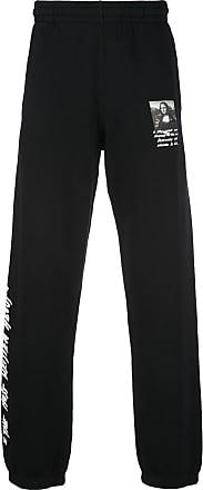 Off-white Mona Lisa track pants - Black