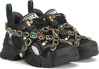 Gucci Sneakers Flashtrek mit Kristallen