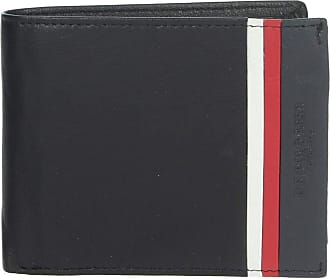 U.S.Polo Association U.S. POLO ASSN. Dixon Horizontal Wallet with Coin Holder Black