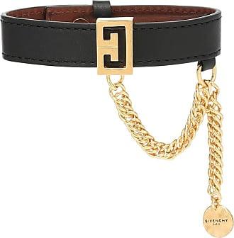 Givenchy Embellished leather bracelet