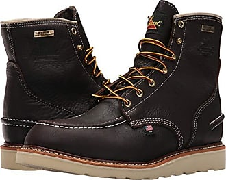e72bbfbff Thorogood AH-1957 6 Moc Toe Waterproof Soft Toe (Brown) Mens Boots
