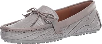 Lauren Ralph Lauren Lauren by Ralph Lauren Womens Briley II Driving Style Loafer, Light Grey/Light Grey, 3.5 UK