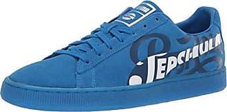 016e13faef Puma Mens Shoes Suede Classic X Pepsi Cola Black Sneakers