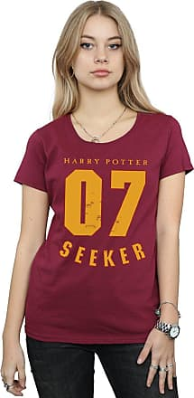 Harry Potter Womens Seeker 07 T-Shirt Large Burgundy