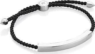 Monica Vinader Linear Large bracelet - Black