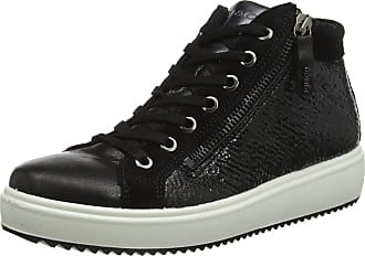 Igi & Co Womens Donna-41511 Hi-Top Trainers, (Nero 4151200), 6 UK