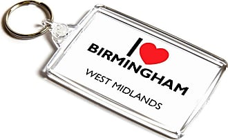 ILoveGifts KEYRING - I Love Birmingham - West Midlands