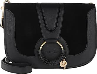 e0b7448a2bcde See By Chloé Hana Crossbody Bag Leather Black Umhängetasche schwarz