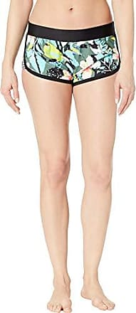 Body Glove Womens Pulse Elastic Waist Hybrid Pull On Swim Short with UPF 50+, oahu Cactus, Large