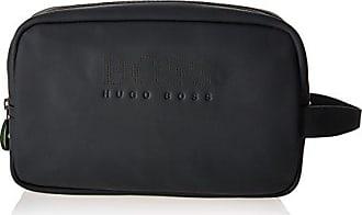 62ac3d1204 HUGO BOSS BOSS Green Mens Hyper Washbag/DOB Kit, Black, One Size